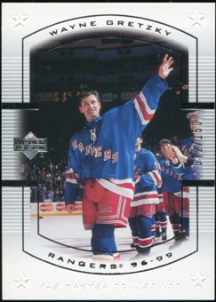 2000 Upper Deck Wayne Gretzky Master Collection US #17 Wayne Gretzky 72/150