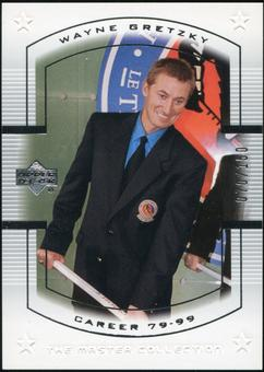 2000 Upper Deck Wayne Gretzky Master Collection US #18 Wayne Gretzky 70/150
