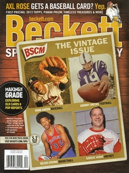2013 Beckett Sports Card Monthly Price Guide (#337 April) (Vintage Issue)