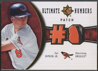 2006 Ultimate Collection #RC Cal Ripken Ultimate Numbers Patch #23/35