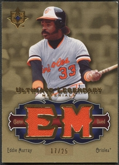 2006 Ultimate Collection #EM Eddie Murray Legendary Materials Jersey #17/25