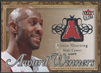2007/08 Ultra SE #AWAM Alonzo Mourning Award Winners Jersey #093/199