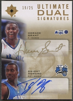 2007/08 Ultimate Collection #GH Horace Grant & Dwight Howard Signatures Dual Auto #19/25