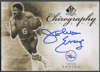 2008/09 SP Authentic #CJE Julius Erving Chirography Auto