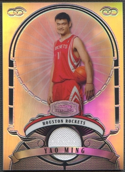 2007/08 Bowman Sterling #YM Yao Ming Refractors Jersey #051/199