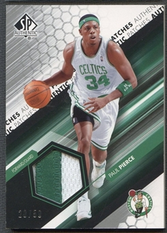 2004/05 SP Authentic #PP Paul Pierce Fabrics Patch #20/50