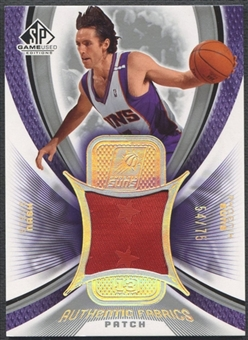 2005/06 SP Game Used #SN Steve Nash Authentic Fabrics Patch #54/75
