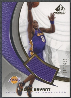 2005/06 SP Game Used #44J Kobe Bryant Jersey #079/100