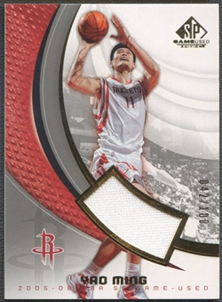 2005/06 SP Game Used #36J Yao Ming Jersey #042/100