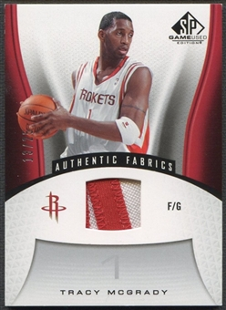 2006/07 SP Game Used #132 Tracy McGrady Patch #13/25