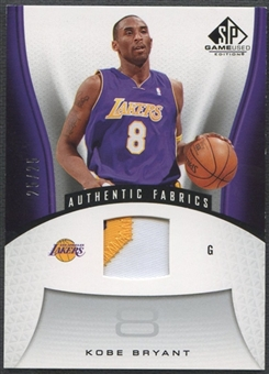 2006/07 SP Game Used #142 Kobe Bryant Patch #25/25