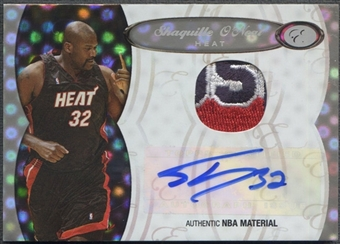 2006/07 Bowman Elevation #PSO Shaquille O'Neal Board of Directors Patch Auto #1/1