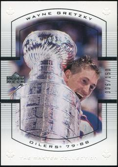 2000 Upper Deck Wayne Gretzky Master Collection Canada #6 Wayne Gretzky 6/150