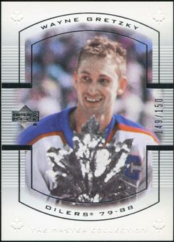 2000 Upper Deck Wayne Gretzky Master Collection Canada #7 Wayne Gretzky 149/150