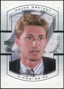 2000 Upper Deck Wayne Gretzky Master Collection Canada #8 Wayne Gretzky 149/150
