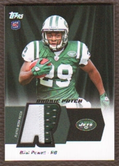 2011 Topps Rookie Patch #HRPBP Bilal Powell