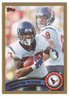 2011 Topps Gold #18 Houston Texans Team/Matt Schaub/Arian Foster /2011