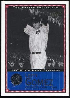 2000 Upper Deck Yankees Master Collection #NYY6 Lefty Gomez 1937 184/500