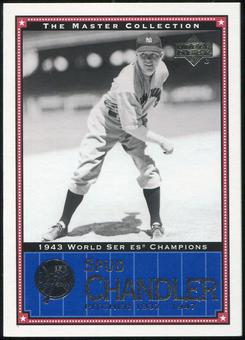 2000 Upper Deck Yankees Master Collection #NYY10 Spud Chandler 1943 184/500