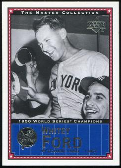 2000 Upper Deck Yankees Master Collection #NYY13 Whitey Ford 1950 184/500