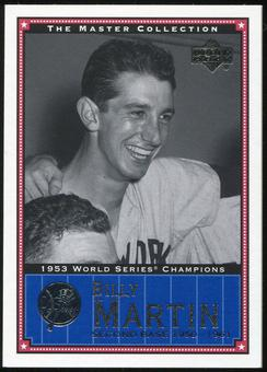 2000 Upper Deck Yankees Master Collection #NYY16 Billy Martin 1953 184/500