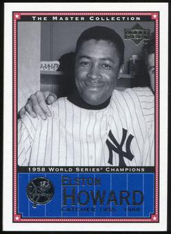 2000 Upper Deck Yankees Master Collection #NYY18 Elston Howard 1958 184/500