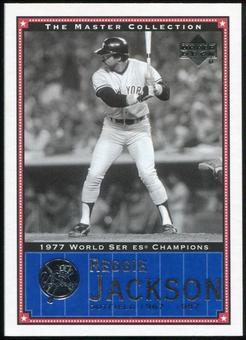 2000 Upper Deck Yankees Master Collection #NYY21 Reggie Jackson 1977 184/500