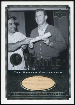 2000 Upper Deck Yankees Master Collection All-Time Yankees Game Bats #ATY2 Mickey Mantle 184/500