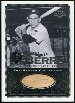 2000 Upper Deck Yankees Master Collection All-Time Yankees Game Bats #ATY8 Yogi Berra 184/500