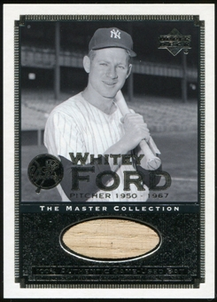 2000 Upper Deck Yankees Master Collection All-Time Yankees Game Bats #ATY10 Whitey Ford 184/500