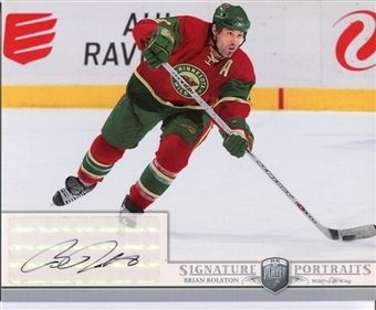 2006/07 Upper Deck Be A Player Portraits Signature Portraits #SPBR Brian Rolston Autograph
