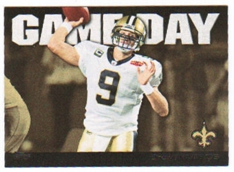 2011 Topps Game Day #GDDBR Drew Brees
