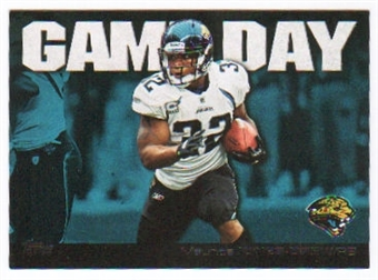 2011 Topps Game Day #GDMJD Maurice Jones-Drew