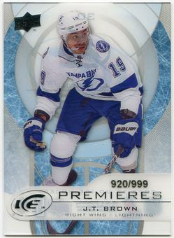 2012/13 Upper Deck Ice #30 J.T. Brown RC /999