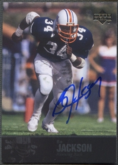 2011 Upper Deck College Legends #17 Bo Jackson Auto SP