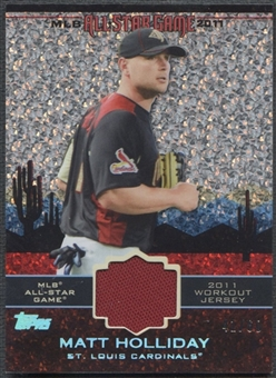 2011 Topps Update #AS53 Matt Holliday All-Star Stitches Diamond Anniversary Jersey #41/60