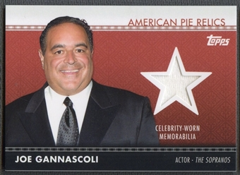 2011 American Pie #APR7 Joe Gannascoli Relics Shirt