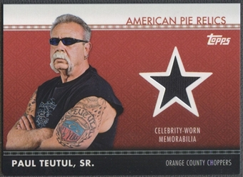 2011 American Pie #APR13 Paul Teutul, Sr. Relics Shirt