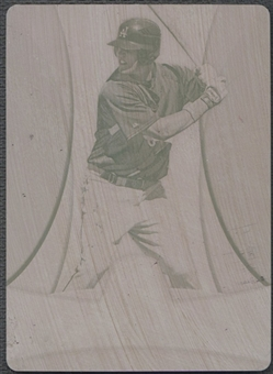 2010 Bowman Platinum #PP1 Jerry Sands Prospects Printing Plate Magenta #1/1
