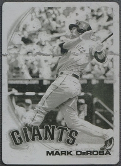 2010 Topps Update #US195 Mark DeRosa Printing Plates Black #1/1