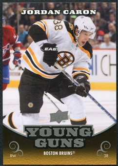 2010/11 Upper Deck Young Guns Oversized #OS7 Jordan Caron