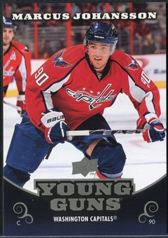 2010/11 Upper Deck Young Guns Oversized #OS9 Marcus Johansson