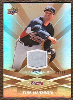 2009 Upper Deck Spectrum Gold Jersey #7 Tim Hudson /99