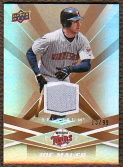 2009 Upper Deck Spectrum Gold Jersey #57 Joe Mauer /99