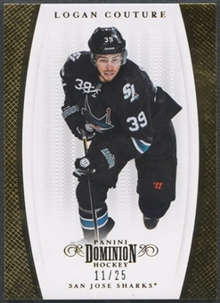 2011/12 Dominion #56 Logan Couture Gold #11/25