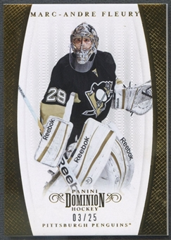 2011/12 Dominion #38 Marc-Andre Fleury Gold #03/25