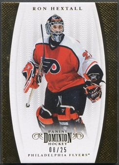 2011/12 Dominion #97 Ron Hextall Gold #08/25