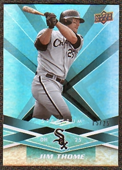 2009 Upper Deck Spectrum Turquoise #24 Jim Thome /25