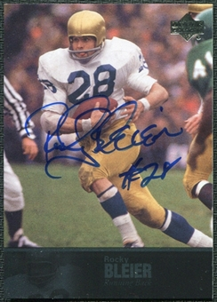 2011 Upper Deck College Legends Autographs #33 Rocky Bleier Autograph