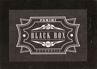 2013 Industry Summit Las Vegas Panini Black Box Authentic